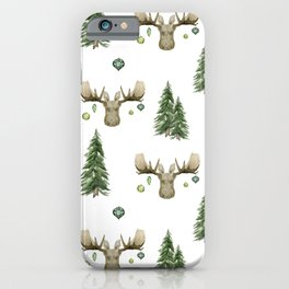 The Moose Wonderful Time - Pattern iPhone Case