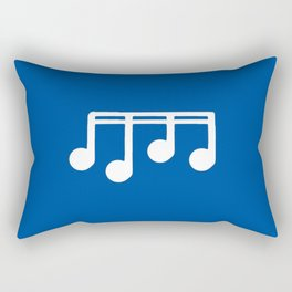 melody, note and music 7 Rectangular Pillow