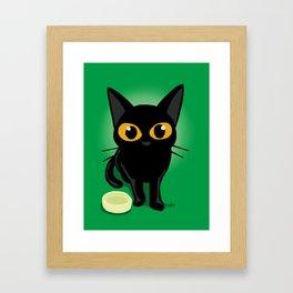Magical eyes Framed Art Print