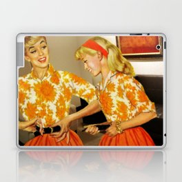 Daughter and Her Narcissistic Mother Laptop & iPad Skin
