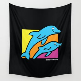 Dolphins. Wall Tapestry