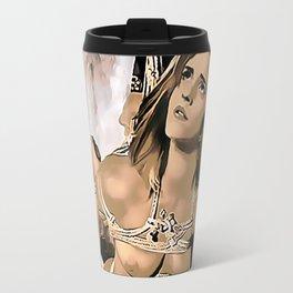 Celebrity in bondage - Emma Watson Fantasy Travel Mug