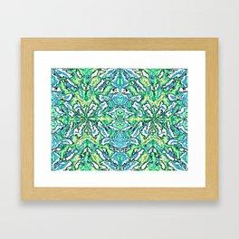 Digital Pattern v.1 Framed Art Print