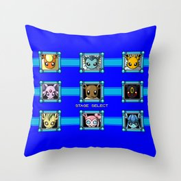Stage Select Throw Pillow