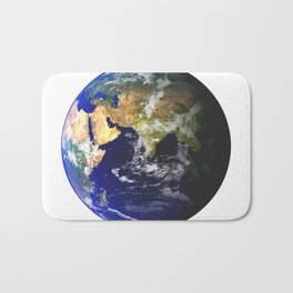 Earth Globe Bath Mat