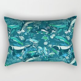 Whale song Rectangular Pillow
