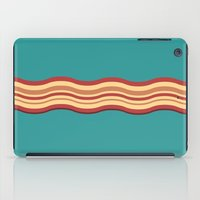 bacon iPad Cases featuring Bacon by Jiro Tamase