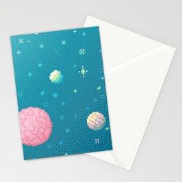Brain Planet (8bit) Stationery Cards