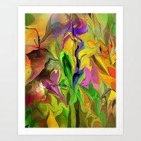Abstract 070313 Art Print