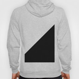 Triangles - Black and White Hoody