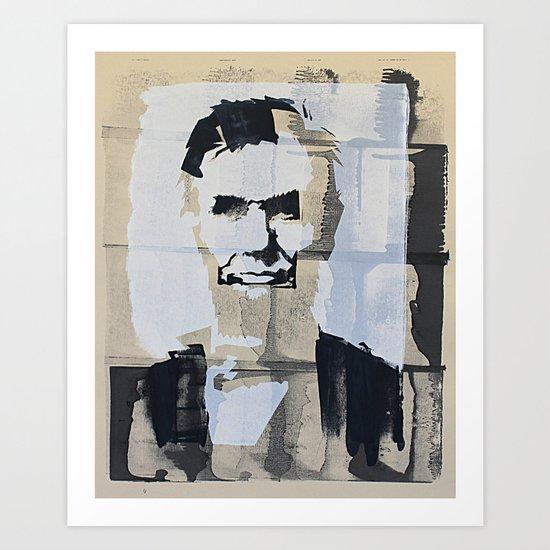 Abraham Lincoln (make-ready) Art Print