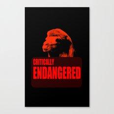 Endangered Wild Bactrian Camel Canvas Print