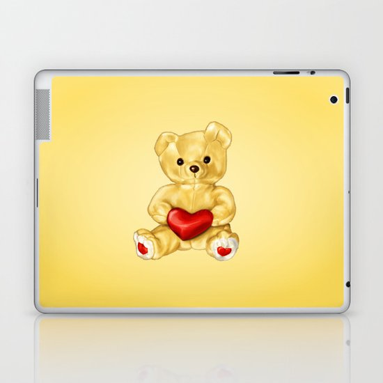 Teddy Bear Hypnotist Laptop & iPad Skin