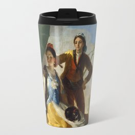 Francisco Goya - The Parasol - El Quitasol Travel Mug
