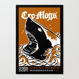 Cro-Mags Canvas Print