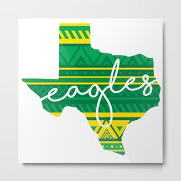 Texa Eagles Metal Print