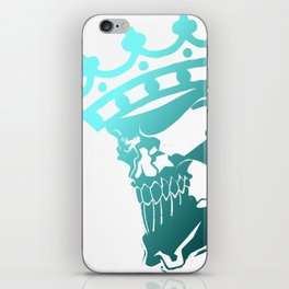 Fallen King iPhone Skin