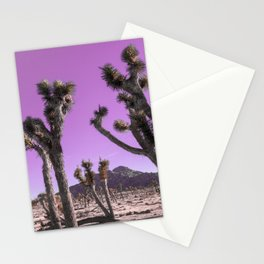 Magenta Joshua Tree Stationery Cards