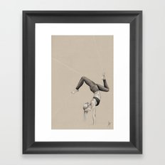 Yoga 3 Framed Art Print