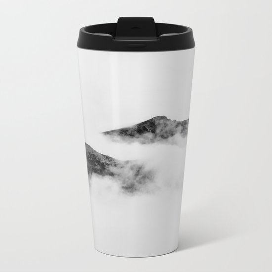 Mountains in the Clouds Metal Travel Mug