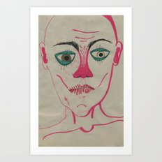 Monsieur Art Print
