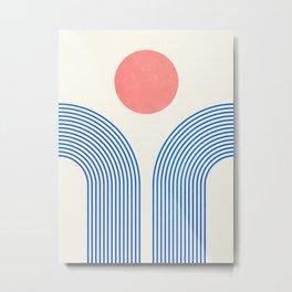 The Sundowner Metal Print