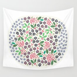 Rowan Berries Wall Tapestry