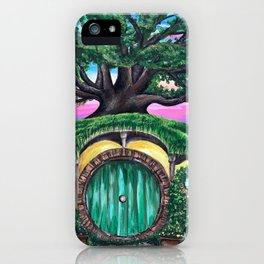 Hobbits Home iPhone Case