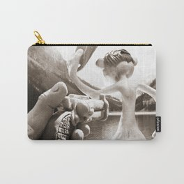 Naked Cowboy (sepia) Carry-All Pouch