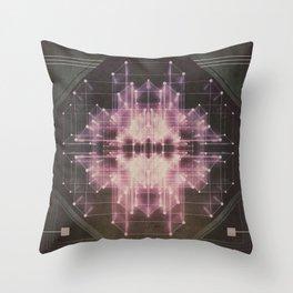 Explosive field Throw Pillow