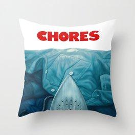 Chores (2015 version) Throw Pillow