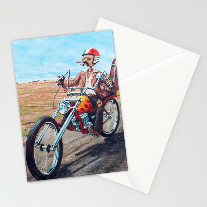 Pinocchio - Born to be wild Stationery Cards