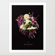Head(H)andSoul Art Print