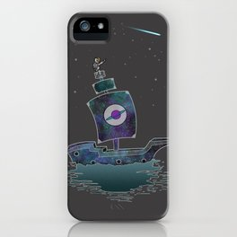 The Adventures Of The Space Ship! iPhone Case