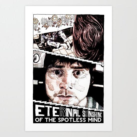 Eternal Sunshine of the Spotless Mind by Aaron Bir Art ...