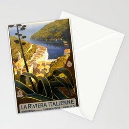 La Riviera italienne, Portofino près de S.Margherita et Rapallo Stationery Cards