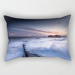 High Tide at Cromer Rectangular Pillow