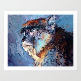 Juliette - Austin Zoo Art Print