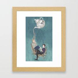 Johnlock Teatime Framed Art Print