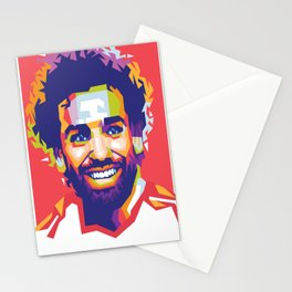 Mohamed Salah LFC Stationery Cards