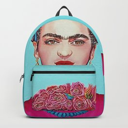 Frida Kahlo Defiant Backpack