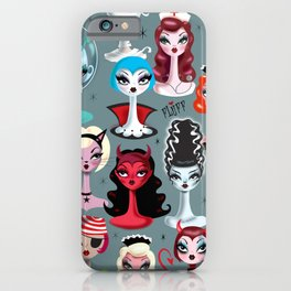Spooky Dolls iPhone Case