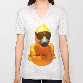 What the Duck! Unisex V-Neck
