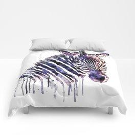 Zebra Head Comforters