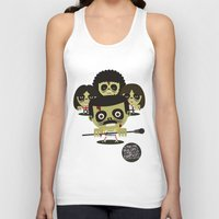 zombies Tank Tops featuring queen zombies by danvinci