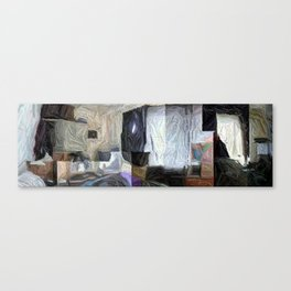 My Humble Domicile In Panorama Canvas Print
