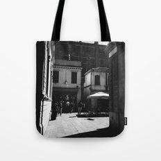 Just around the corner Tote Bag