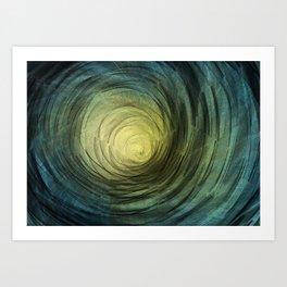 Ethereal Spiral Art Print