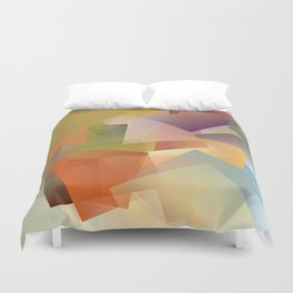 Cubism Abstract 178 Duvet Cover