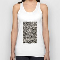 newspaper Tank Tops featuring - newspaper - by Magdalla Del Fresto